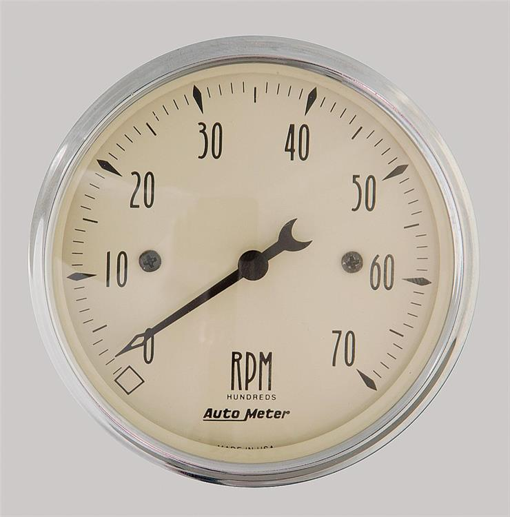 turteller 80mm 0-7.000RPM Antikk Beige
